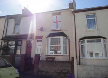 Thumbnail 3 bed terraced house to rent in Baden Road, Gillingham, Kent, Medway