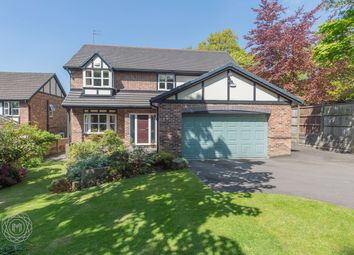 Thumbnail 5 bed detached house for sale in Old Hall Clough, Lostock, Bolton