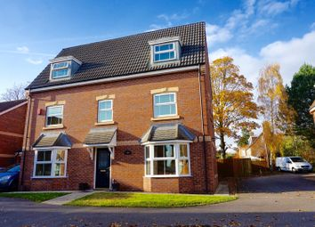 Thumbnail 5 bed detached house for sale in Hayfield Court, Doncaster