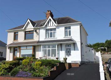 Thumbnail 3 bedroom semi-detached house for sale in Lon Mafon, Sketty, Swansea