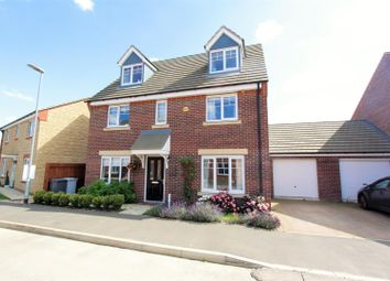 Thumbnail 5 bed detached house for sale in Musselburgh Way, Bourne