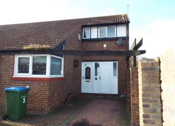 Thumbnail 3 bed end terrace house for sale in Goldcrest Close, London