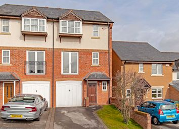Thumbnail 3 bed town house for sale in Coupland Close, Old Whittington, Chesterfield