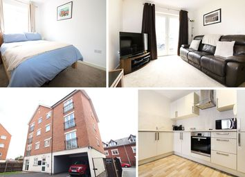 Thumbnail 1 bed flat for sale in Harrowby Place, Cardiff