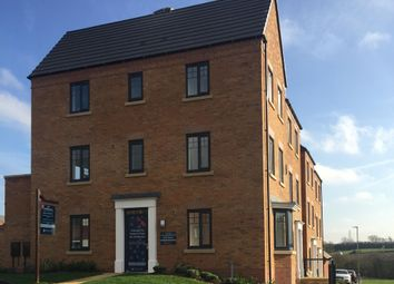 "Thumbnail 3 bed semi-detached house for sale in ""Durrington"" at Carters Lane, Kiln Farm, Milton Keynes"