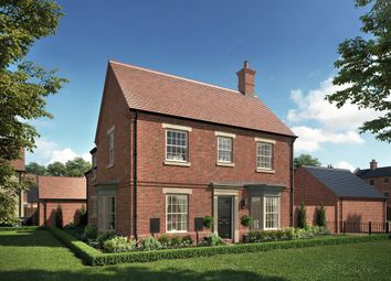 "Thumbnail 4 bed property for sale in ""The Lincoln"" at Central Avenue, Brampton, Huntingdon"
