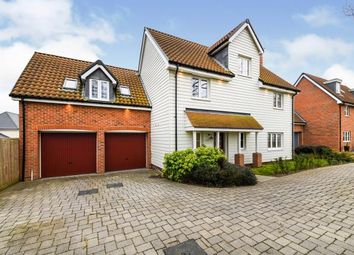 Thumbnail 5 bed detached house for sale in St Lukes Development, Runwell, Wickford