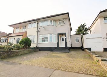 Thumbnail 3 bed semi-detached house for sale in Merlin Grove, Ilford