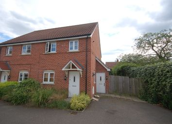 Thumbnail 1 bed flat to rent in Allisons Close, Thetford