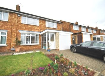 Thumbnail 3 bedroom semi-detached house to rent in Gainsford Crescent, Hitchin