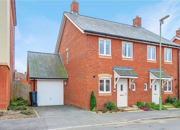 Thumbnail 2 bed semi-detached house for sale in Cutforth Way, Romsey, Hampshire