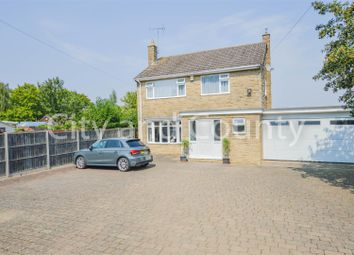 Thumbnail 4 bed detached house for sale in Eastgate, Deeping St. James, Peterborough