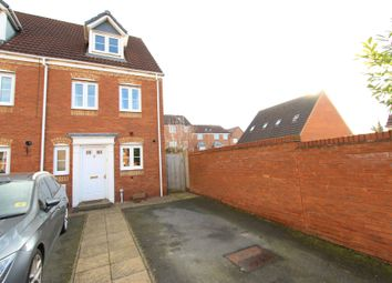 Thumbnail 3 bed end terrace house for sale in Russell Close, Wilnecote, Tamworth