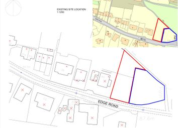 Thumbnail Land for sale in Edge Road, Dewsbury, West Yorkshire