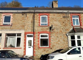 Thumbnail 1 bedroom terraced house for sale in High Street, Llanhilleth