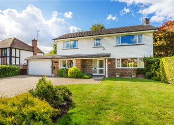 Thumbnail 4 bed detached house for sale in Chalkpit Lane, Oxted, Surrey