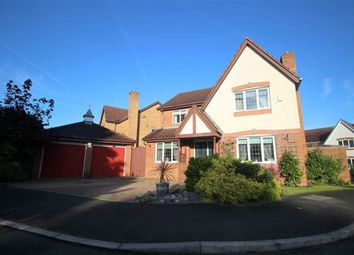 Thumbnail 4 bed detached house for sale in Coleridge Close, Cottam, Preston