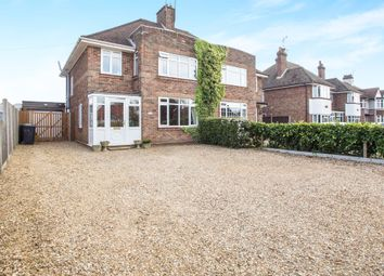 Thumbnail 3 bed semi-detached house for sale in Driftway, Wootton Road, South Wootton, King's Lynn