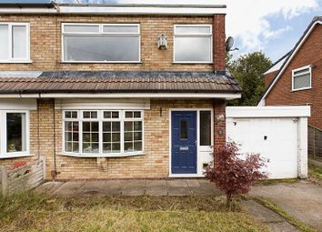 Thumbnail 3 bed semi-detached house for sale in Glemsford Close, Wigan