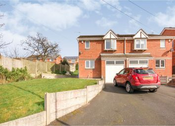 Thumbnail 3 bed semi-detached house for sale in Menai Grove, Stoke-On-Trent