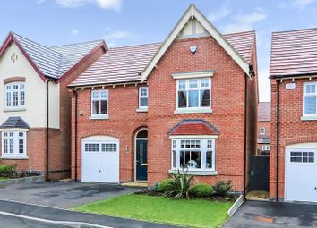 Thumbnail 4 bed detached house for sale in Woodstone Lane, Ravenstone