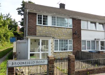 Thumbnail 3 bed end terrace house for sale in Brookfield Road, Dover, Kent