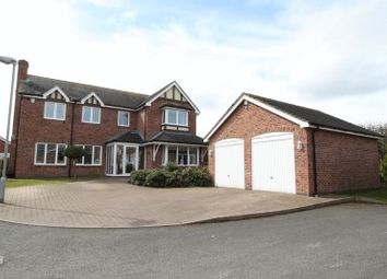 Thumbnail 5 bed detached house for sale in Hampton Court, Newcastle