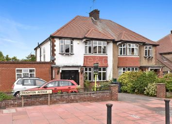 Thumbnail 4 bed semi-detached house for sale in Creighton Avenue, Muswell Hill, London