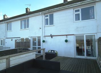 Thumbnail 3 bed terraced house for sale in Trenant Road, East Looe, Cornwall