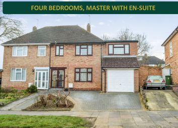 Thumbnail 4 bed semi-detached house for sale in Wintersdale Road, Evington, Leicester