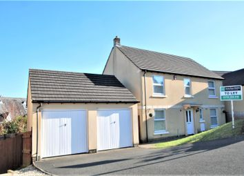 Thumbnail 4 bedroom detached house to rent in Greenfinch Crescent, Pillmere, Saltash