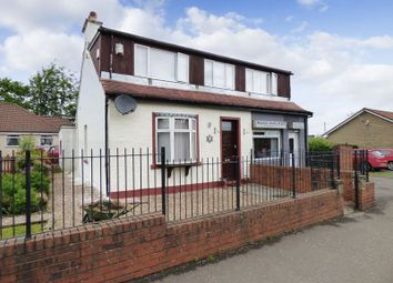 Thumbnail 3 bed detached house for sale in 3 Bed House With Shop Unit, 56/58 Main Street, Stoneyburn