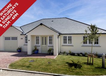 Thumbnail 4 bedroom detached bungalow for sale in Grenville Close, Kilkhampton Road, Bude, Cornwall