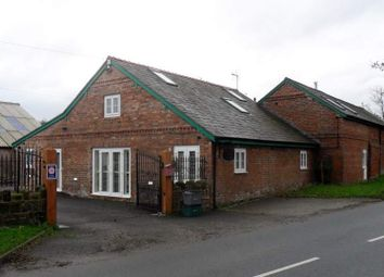 Thumbnail Hotel/guest house for sale in The Milking Parlour Brook Farm, Chester