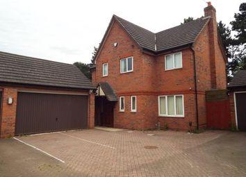 Thumbnail 4 bedroom detached house for sale in Sycamore Crescent, Erdington, Birmingham, West Midlands