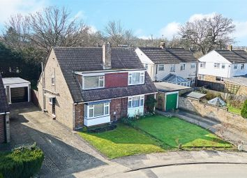 Thumbnail 3 bed semi-detached house for sale in Hazelwood, Crawley