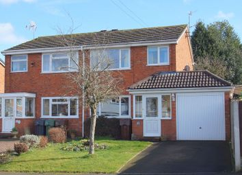 Thumbnail 3 bedroom semi-detached house for sale in Bracken Grove, Catshill, Bromsgrove, Worcestershire