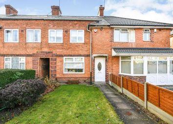 Thumbnail 4 bed terraced house for sale in Round Road, Erdington, Birmingham, West Midlands