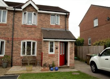 Thumbnail 3 bed semi-detached house for sale in Bron Las, Penpedairheol, Hengoed, Caerphilly