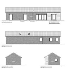Thumbnail 2 bed detached bungalow for sale in High Street, Helpringham, Sleaford