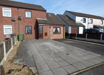 Thumbnail 3 bed end terrace house for sale in Bellsfield, Longtown, Carlisle