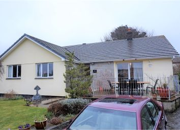Thumbnail 3 bed detached bungalow for sale in Carn Brea Lane, Redruth