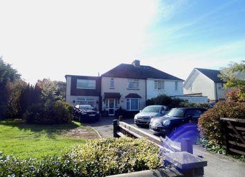 Thumbnail 5 bed semi-detached house for sale in Gosport Road, Stubbington, Fareham