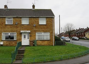 Thumbnail 2 bed end terrace house for sale in Chartist Way, Blackwood