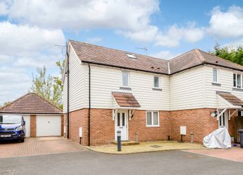 Thumbnail 3 bed semi-detached house for sale in Pinewood Drive, New Haw, Addlestone