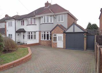 Thumbnail 3 bed semi-detached house for sale in Elmfield Road, Castle Bromwich, Birmingham