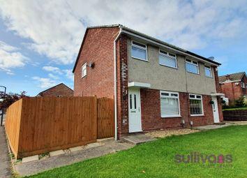 Thumbnail 3 bed semi-detached house for sale in Llwyn Yr Iar, Parc Gwernfadog, Morriston, Swansea