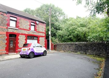 Thumbnail 4 bed end terrace house for sale in Leslie Terrace, Llwyncelyn, Porth