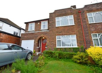 Thumbnail 4 bed semi-detached house for sale in Furham Feild, Pinner