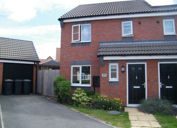 Thumbnail 3 bed semi-detached house for sale in Wessex Drive, Giltbrook, Nottingham